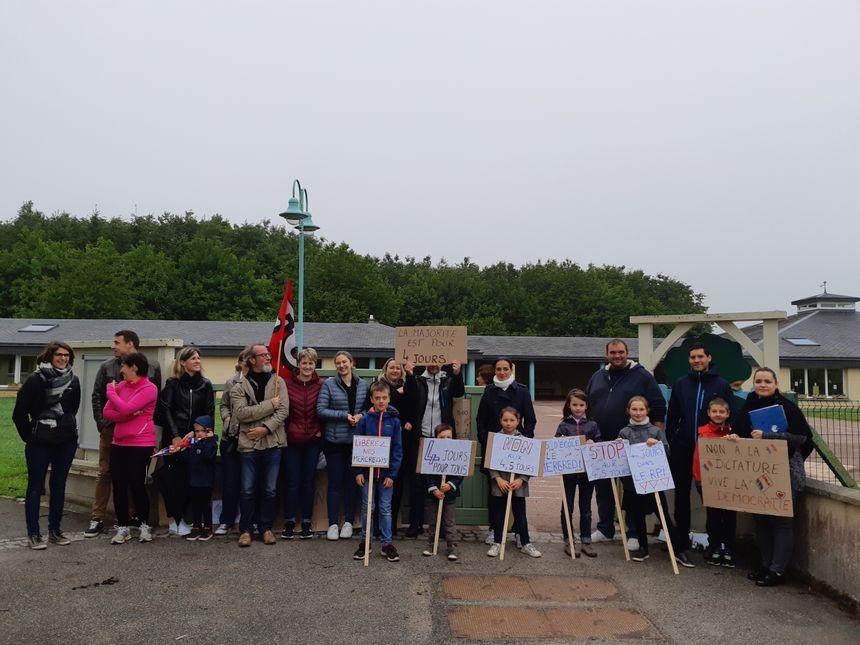 Plusieurs parents n'ont pas scolarisé leurs enfants pour protester contre le passage à la semaine de quatre jours et demi