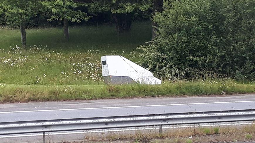 A Plougastel Un Radar Temporaire Juste Avant Le Pont De L