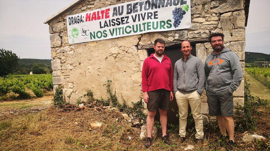 Les vignerons s'opposent au projet