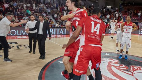 VIDEO - Pro B : le Sluc Nancy Basket sorti en quart de finale par une courageuse équipe de Saint-Chamond (83-84)