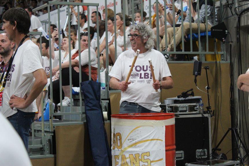Les supporters orléanais ont mis le palais des sports en ébullition