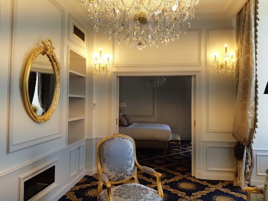 L'Alexandra Palace compte pour l'instant 9 chambres
