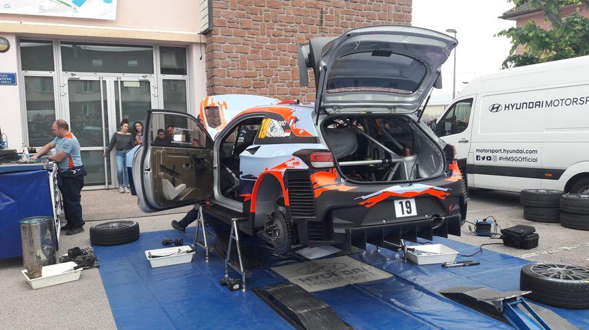 La Hyundai i20 WRC de Sébastien Loeb