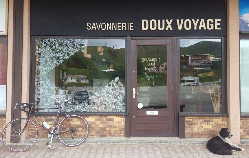 Savonnerie Doux voyage à Chamrousse