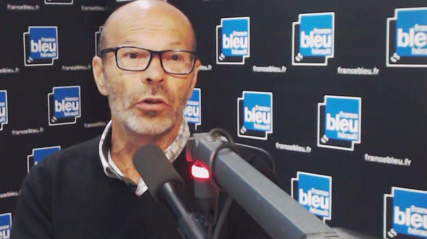 Roland Mazurie, directeur départemental de Météo France pour l'Hérault