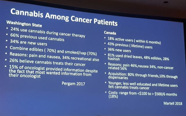 Les oncologues du monde entier ont pu débattre du cannabis thérapeutique lors du Congrès de Chicago.