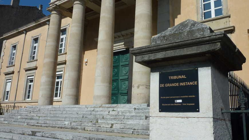 Le Palais de Justice de Privas