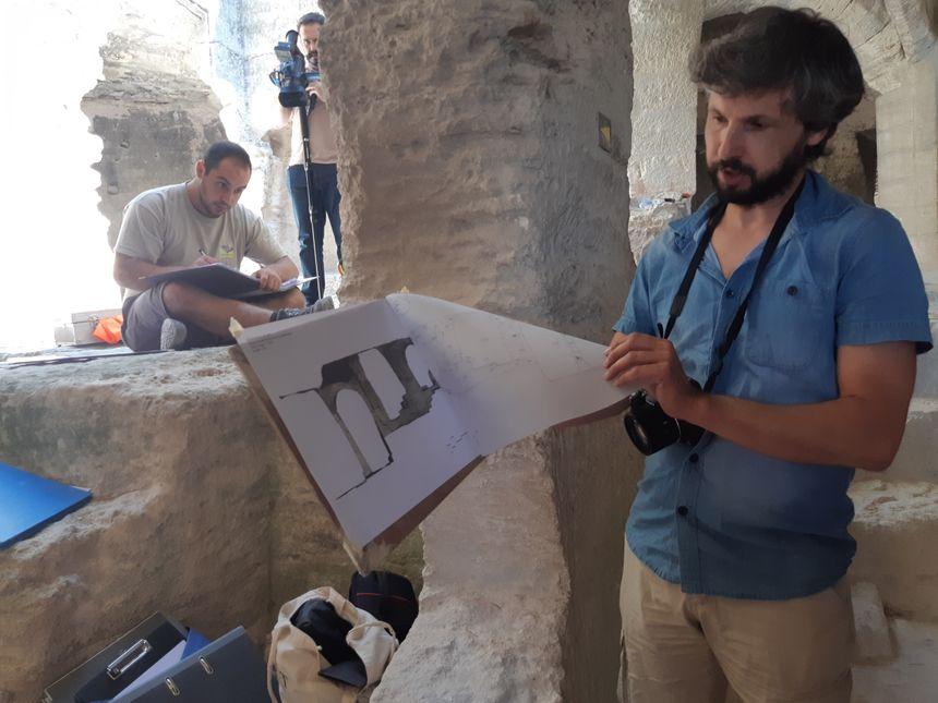 Jean-Luc Piat, le directeur scientifique des fouilles