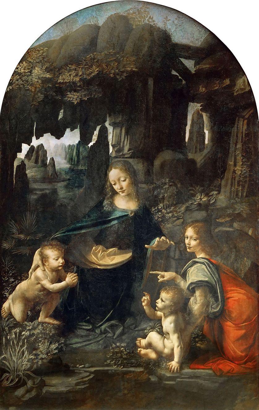 """""""La Vierge aux rochers"""" de Léonard de Vinci"""