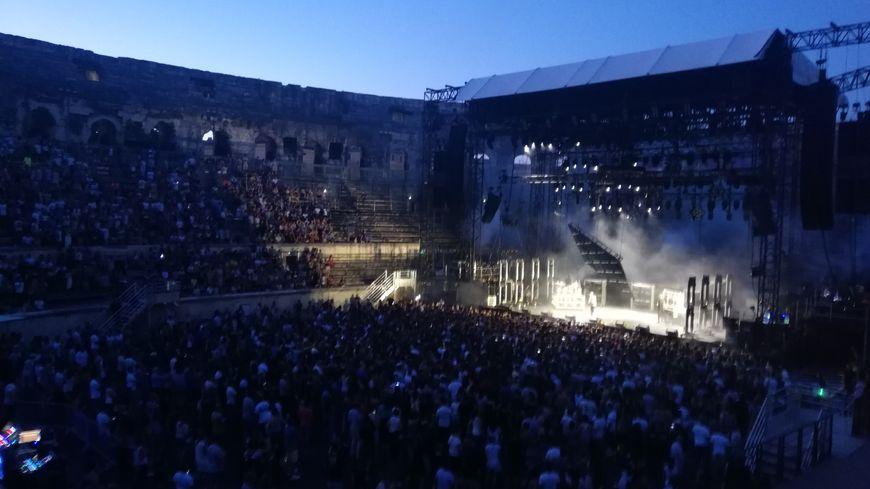 Photo d'illustration du concert d'Eddy de Pretto et de Lomepal lors du 23ème Festival de Nîmes