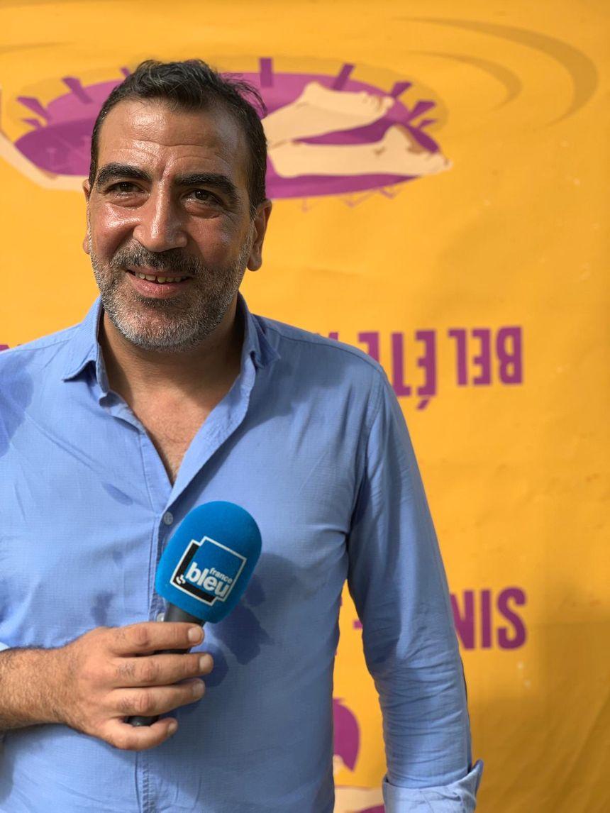 Faouzi Brikh, chef de service des Ludothèques de Saint Denis et responsable du projet Bel Eté