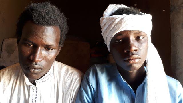 Abdoulaye et son frère Moussa, anciens combattants de Boko Haram.
