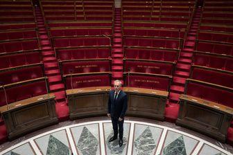 François de Rugy, en 2017, au cœur de l'hémicycle de l'Assemblée nationale