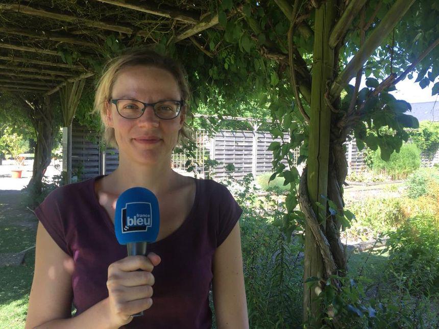 Céline Weber, responsable tourisme et pédagogie du conservatoire national des plantes de Milly-la-Forêt