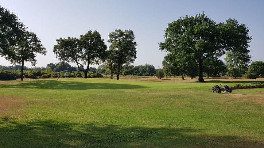Parcours du golf de la Jonchère