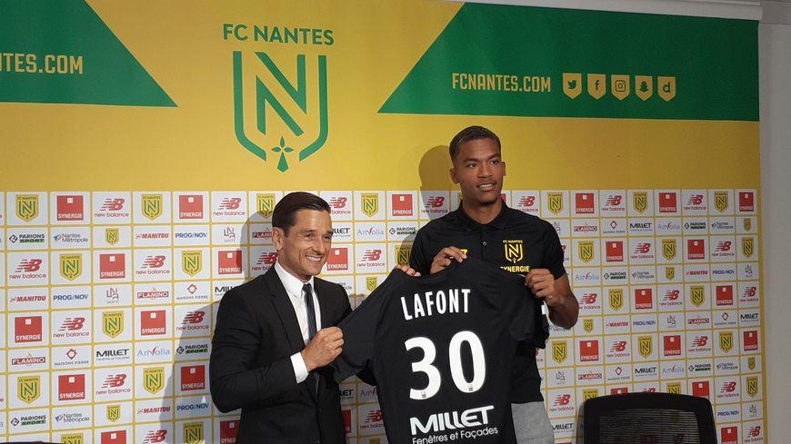 Alban Lafont officiellement présenté comme le nouveau gardien du FC Nantes