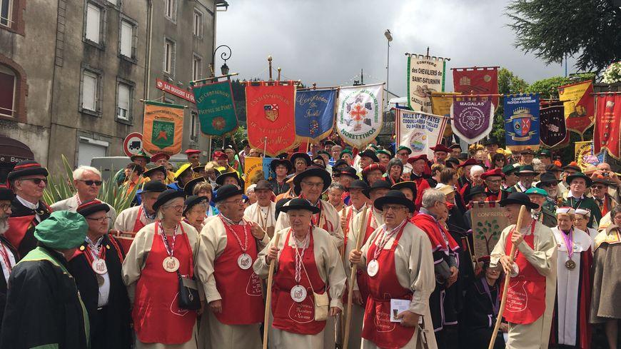 Une quarantaine de confréries venues de toute l'Occitanie ont assisté à la fête ce dimanche.