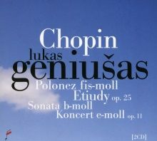 CD Lukas Geniusas Chopin