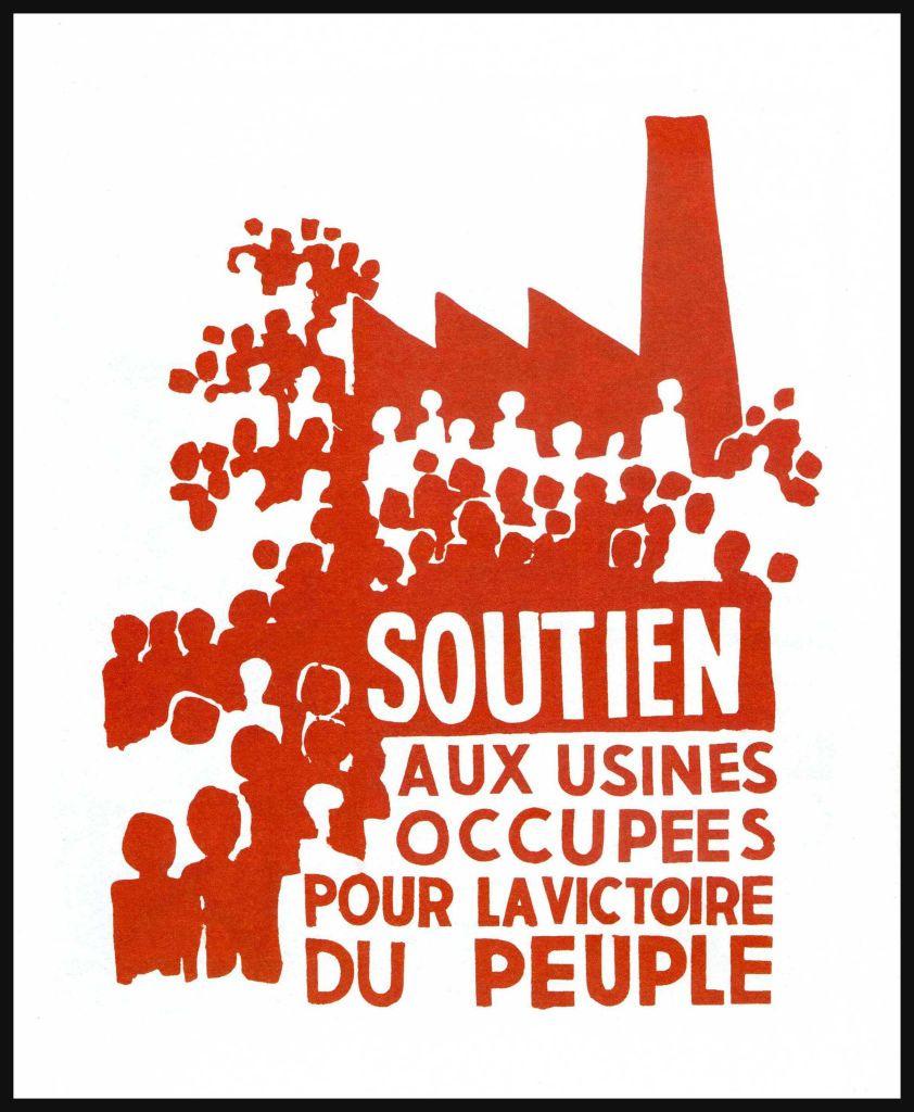 Mai 68 Claude Dewaele La Greve Parle