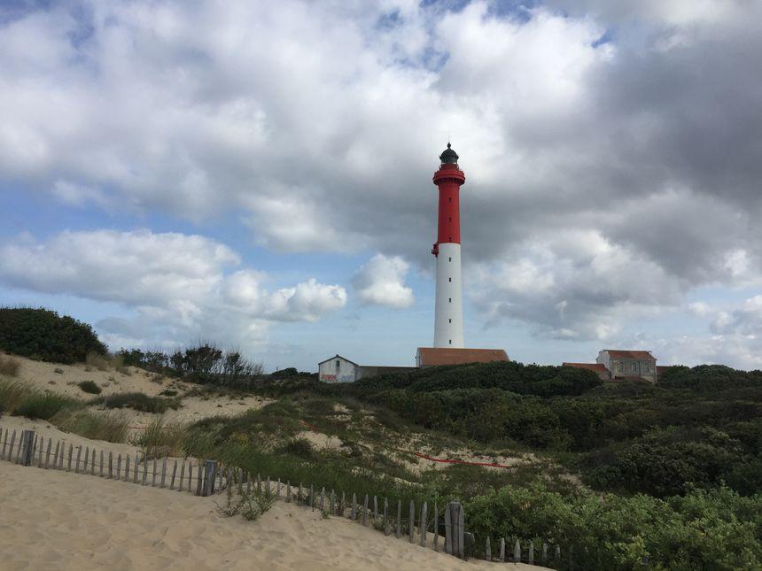 Le phare de la Coubre situé à La Tremblade.