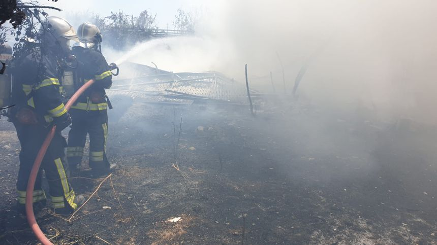 L'incendie de Saint-Laurent-du-Var