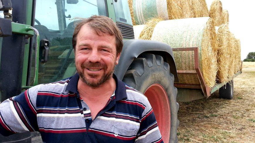 Pour Martial Gros (FDSEA 21), le fourrage des jachères n'assurera qu'une semaine de nourriture à ses vaches