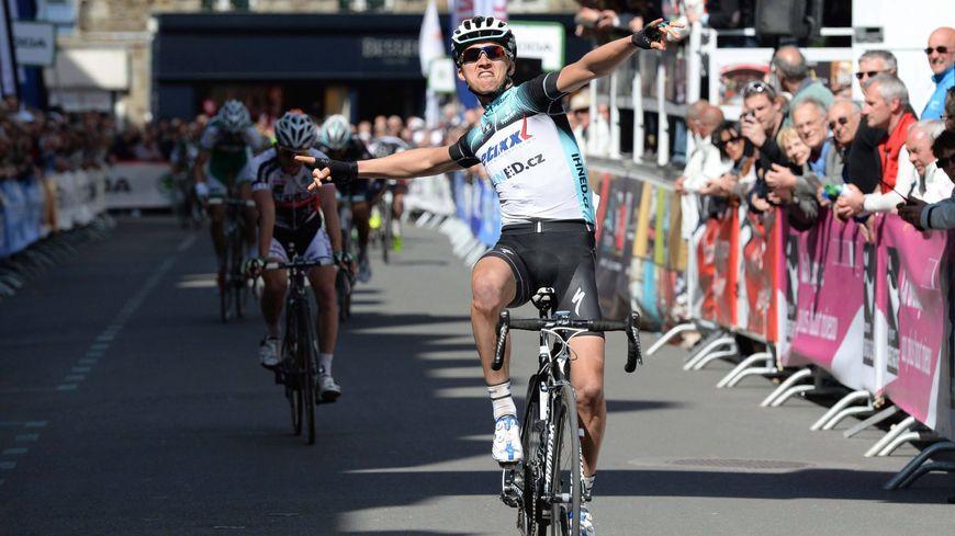 Julian Alaphilippe avait remporté la 4ème étape du Tour de Bretagne en 2013, à Fougères.