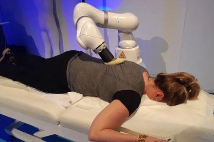Le robot masseur s'adapte à toutes les morphologies.