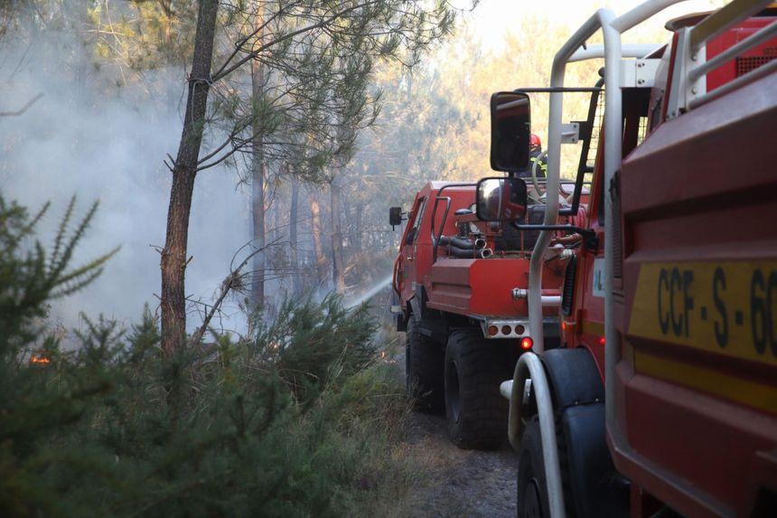 150 pompiers étaient présents sur place