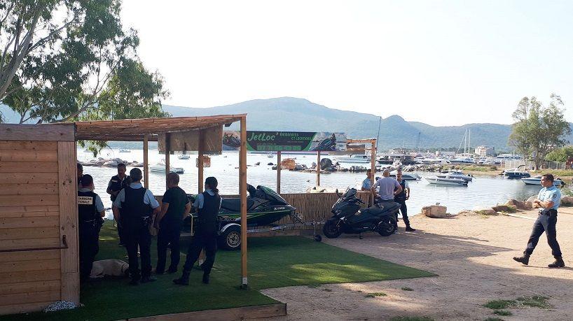 Les gendarmes sont intervenus ce mardi matin sur le port de la cité du sel