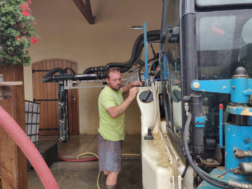 Cyril Audoin est viticulteur à Marsannay-la-Côte