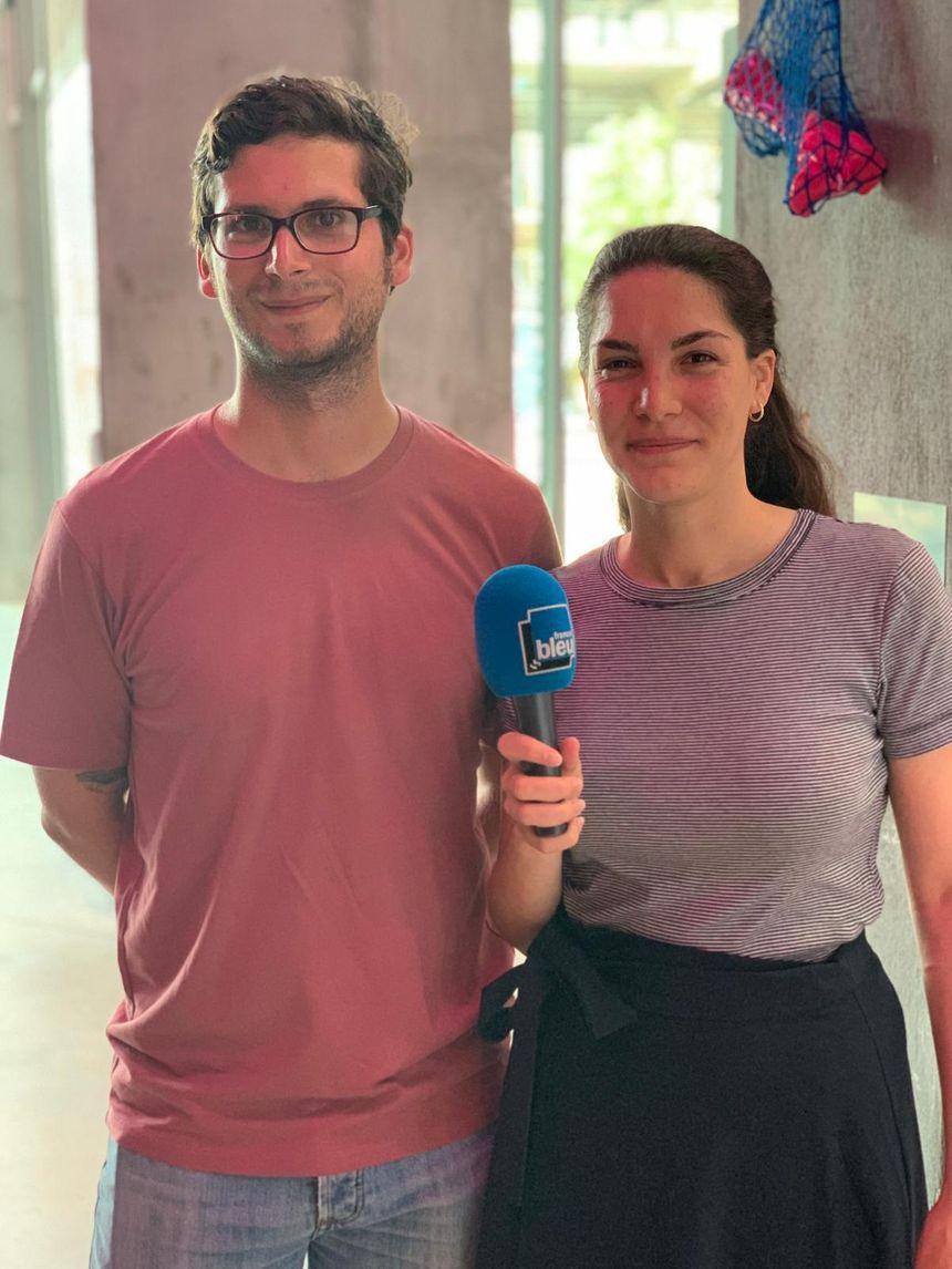 Keimis Henni et Anna Labouze, directeurs artistiques des Magasins Généraux