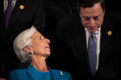Christine Lagarde et Mario Draghi