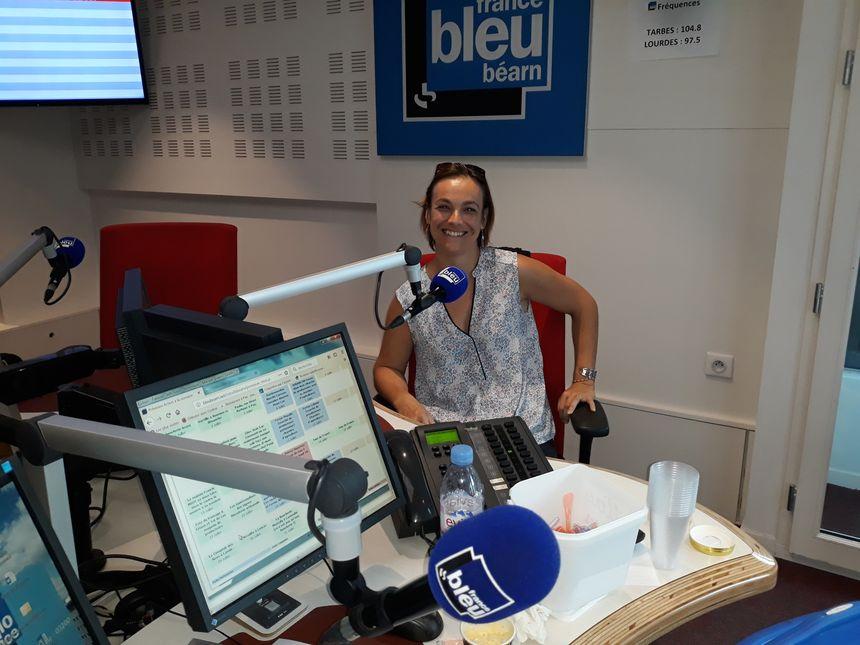 Delphine Cherity qui est rentrée au club des Givrés des Prés !!