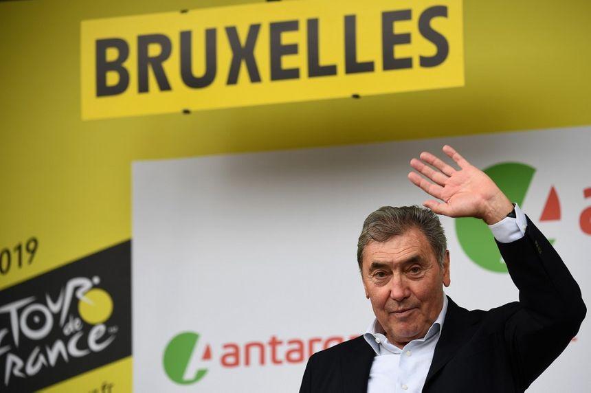 """Le """"Cannibale"""", Eddy Merckx, à l'honneur au départ du Tour de France 2019 le samedi 6 juillet à Bruxelles"""