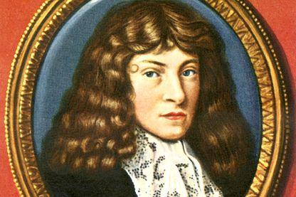 Blaise Pascal d'après une miniature de Paul Prieur