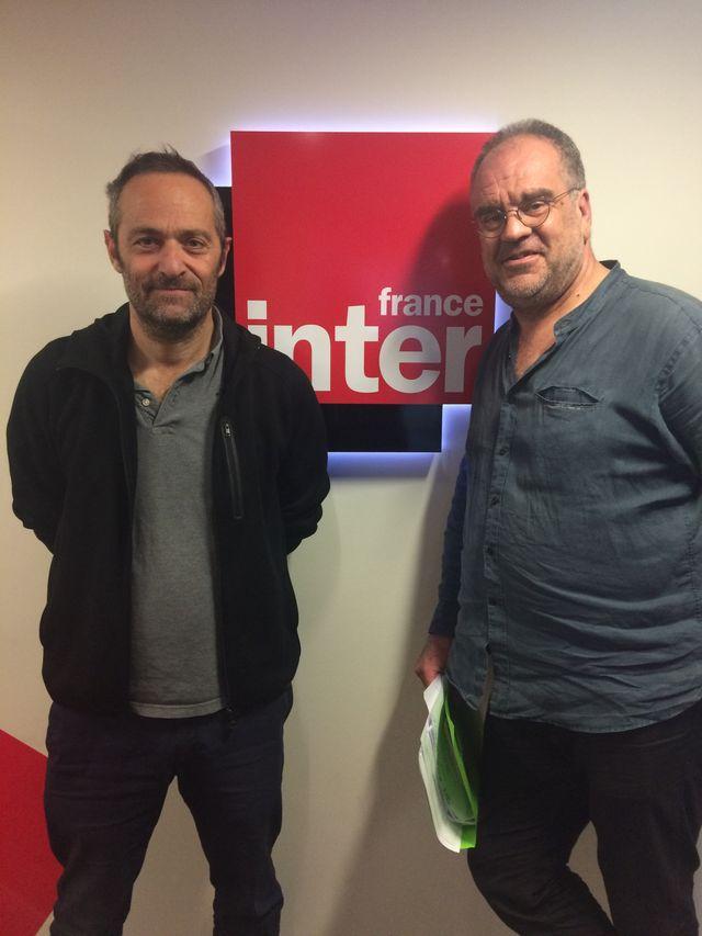 Cédric Kahn et Laurent Delmas dans Ciné qui chante.
