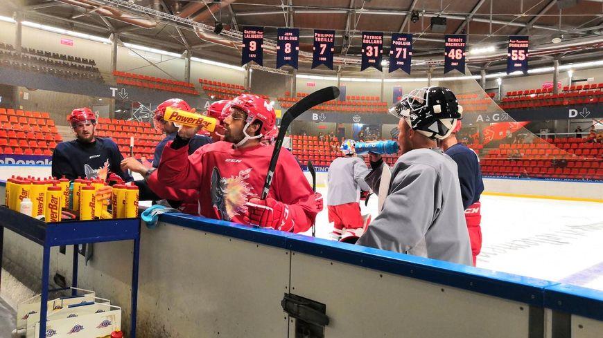 Les BDL ont repris l'entraînement à Pôle Sud ce mardi
