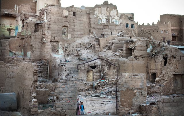 Saada, au nord du yemen