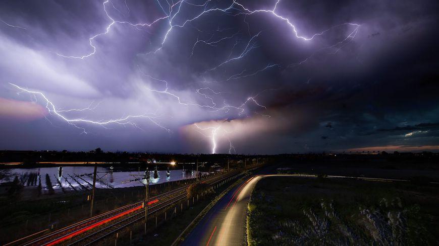 Photo d'illustration d'un orage