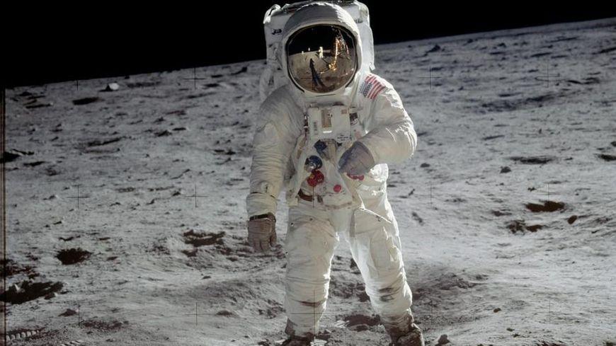 Neil Armstrong sur la Lune en 1969