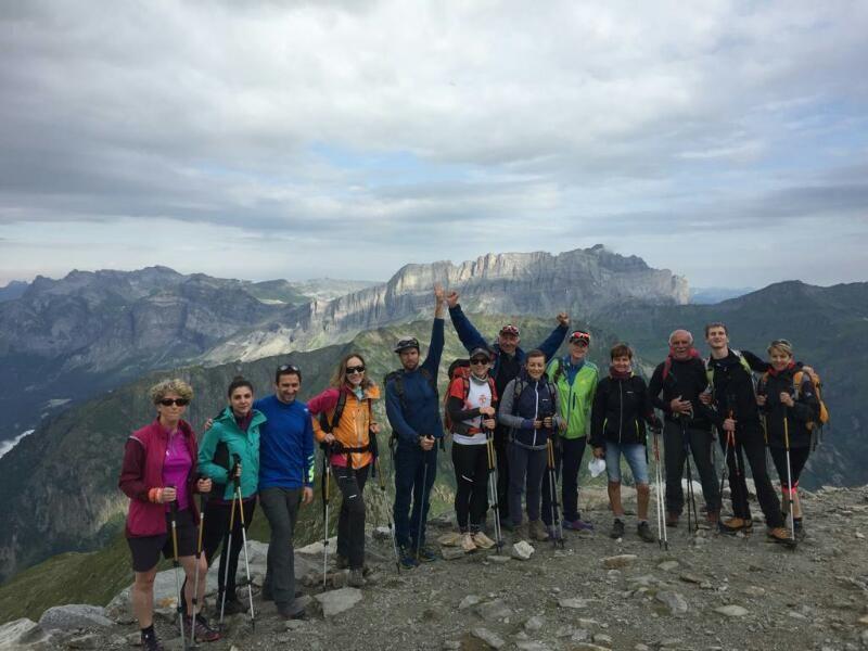 La cordée à Chamonix