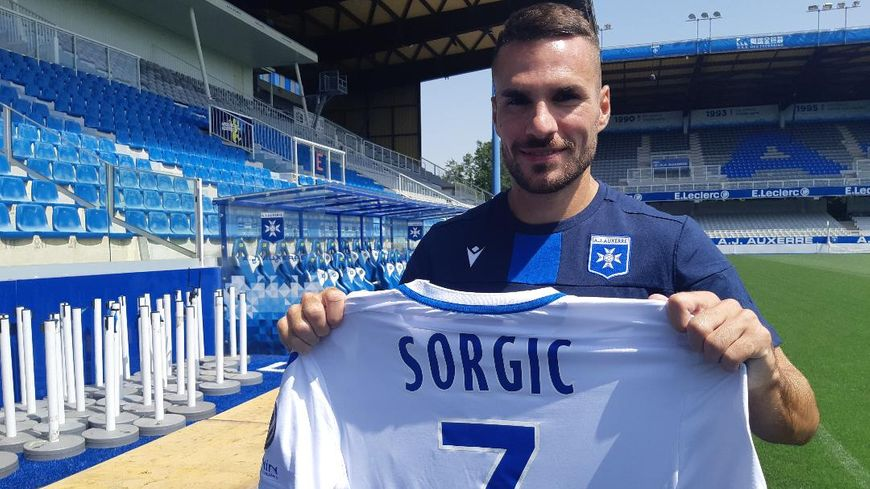 "Dejan Sorgic arrive à l'AJA avec ""beaucoup d'envie"""