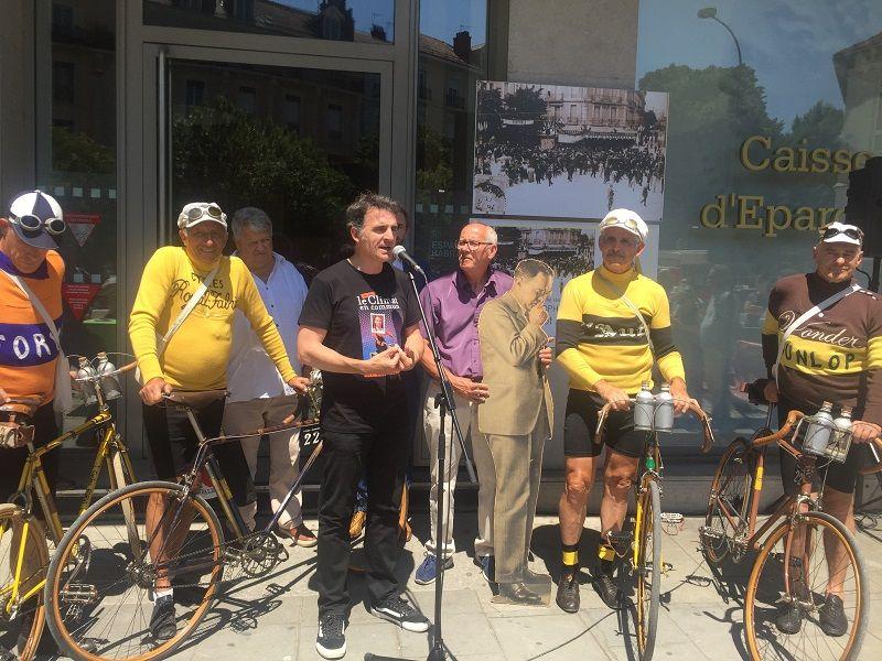 Le maire de Grenoble, Éric Piolle, était présent pour dévoiler la plaque.