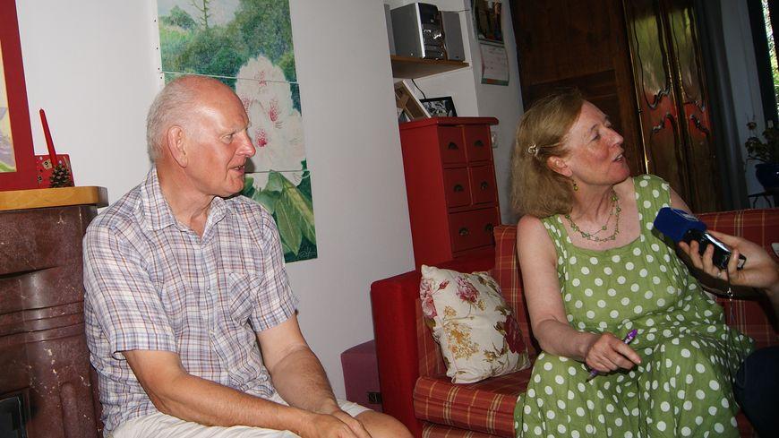 Le couple anglais reviendra aussi longtemps que possible à Quimper pour suivre le festival de Cornouaille