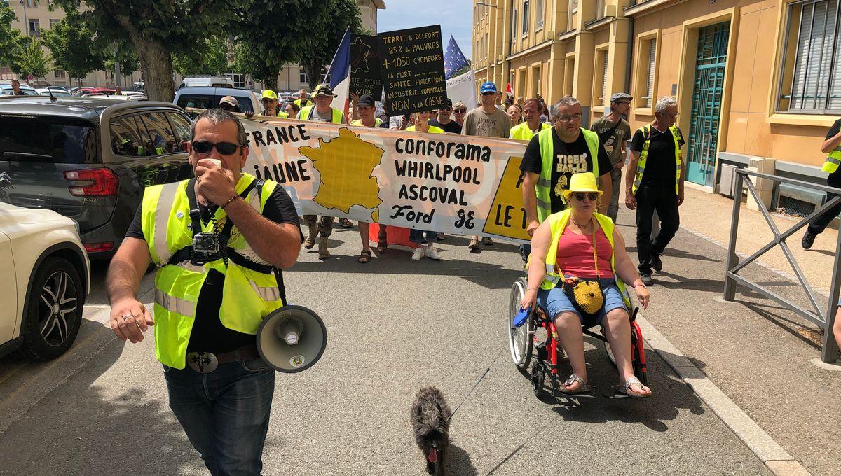 Retour en douceur : 80 gilets jaunes mobilisés à Belfort ce samedi