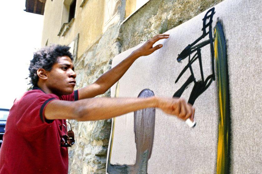 """1981 : Jean-Michel Basquiat, peintre """"naïf"""" et """"sauvage"""" ?"""