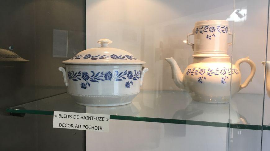 Le style qui a fait la renommée de la région, les Bleus de Saint-Uze.