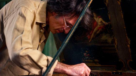 Frédérick Haas, claveciniste et coordinateur artistique de l'enregistrement des 555 sonates de Scarlatti par France Musique