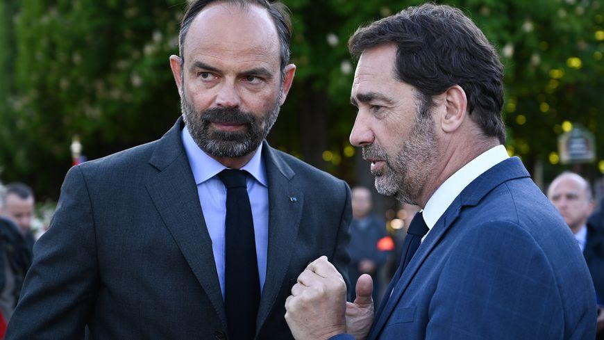 IMAGE D'ILLUSTRATION - Suite à la mort de Steve, à Nantes, Edouard Philippe a pris la parole aux côtés de Christophe Castaner.